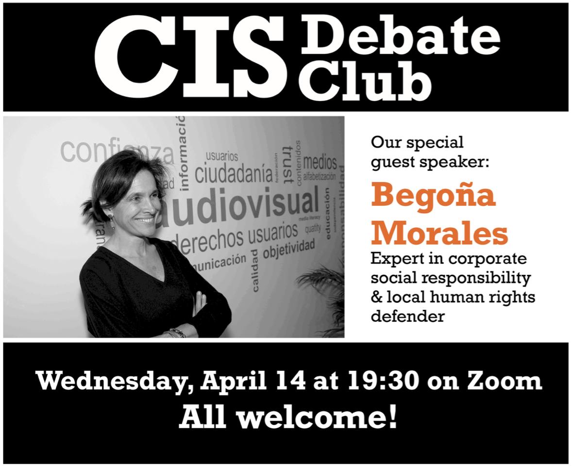 2º Debate con alumnos de la universidad americana CIS
