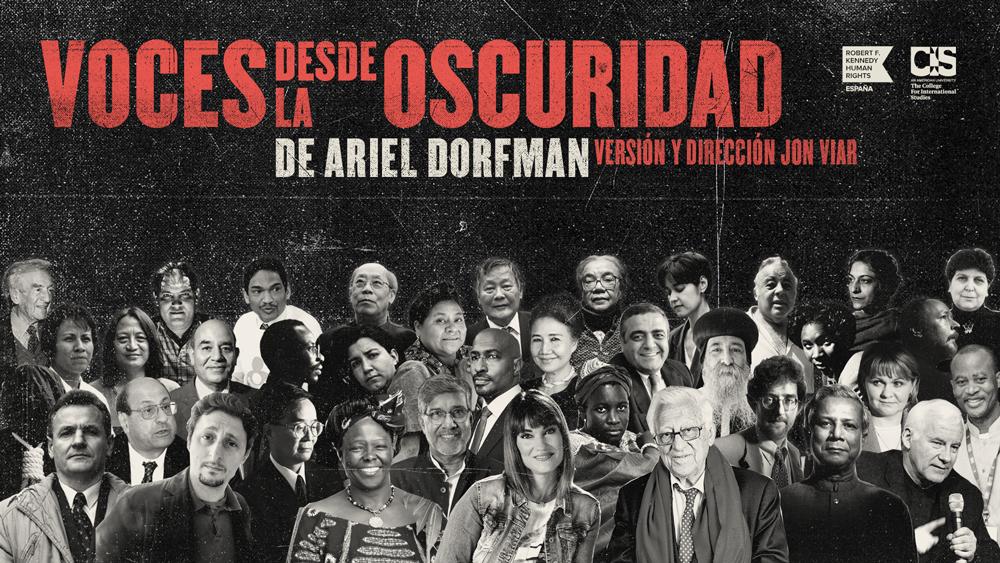 La obra de teatro «Voces desde la oscuridad» de Ariel Dorfman